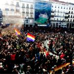 Decenas de miles de personas llenan Madrid en contra de la «vieja política»
