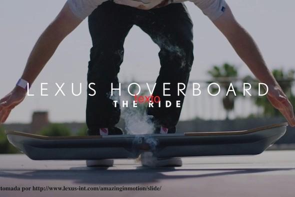 Lexus Hoverboard, el monopatín que levita