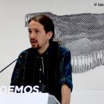"""Pablo Iglesias: """"Ahora Pedro Sánchez me llama, pero no formaremos parte de gobiernos presididos por el PSOE"""""""