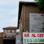 El cierre en el silencio de un instituto de enseñanza pública