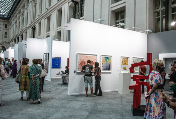 El arte contemporáneo llena las ferias de Madrid